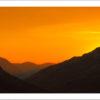 Honister Pass Sunset