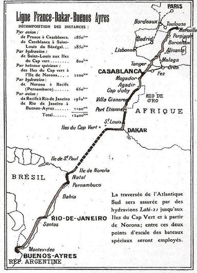 map aeropostal